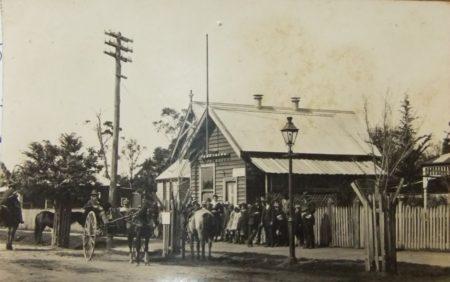 Bains Post Office 1915