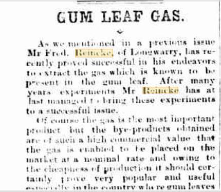 Gum Leaf Gas