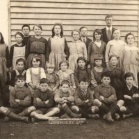 Longwarry South School 1921. It Became Ripplebrook After 1924