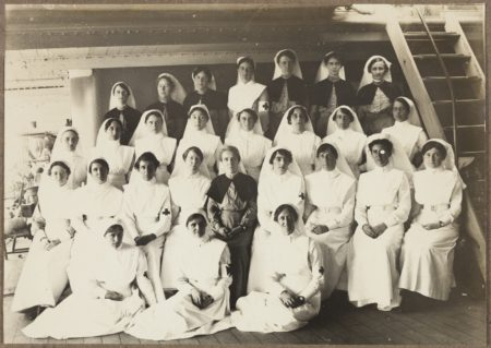 Nursing Staff 3rd. Australian General Hospital Abbassa C1916