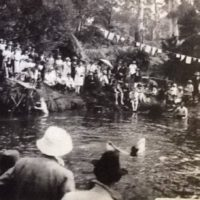 Picnic Point Swimming Carnival 1920's